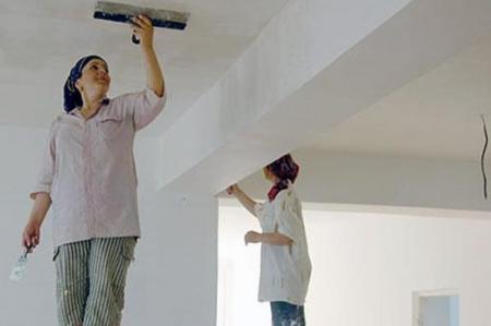 шпатлевка потолков